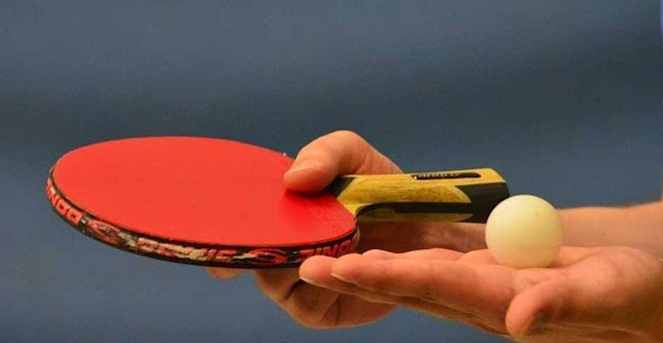 how to clean a ping pong paddle